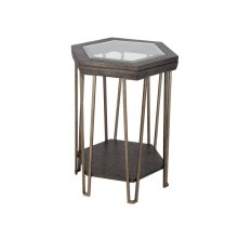 Shaped Accent Table
