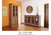 Cabinet w/4 doors - Sand Finish