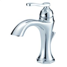 Chrome Draper® Single Handle Lavatory Faucet