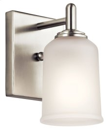 Shailene 1 Light Wall Sconce Brushed Nickel