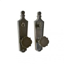 "Paris Privacy Set - 2 1/2"" x 9 1/4"" Silicon Bronze Brushed"