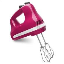 5-Speed Ultra Power Hand Mixer - Cranberry