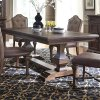 Liberty Furniture Industries 5 Piece Double Pedestal Table Set