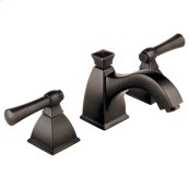 Widespread Lavatory Faucet With Curve Spout