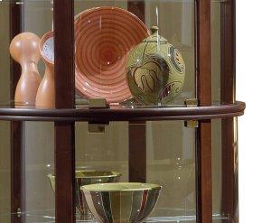 Preference Half Round Mirrored Curio
