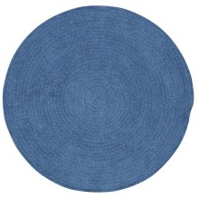 Dark Blue Chenille Creations Round