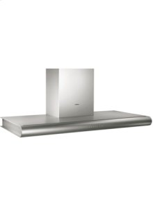 "Wall-mounted hood AW 280 720 Stainless steel Width 48"" Air extraction/recirculation"