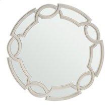 Criteria Round Mirror in Criteria Heather Gray (363)