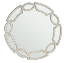 Criteria Round Mirror in Criteria Heather Gray (363)