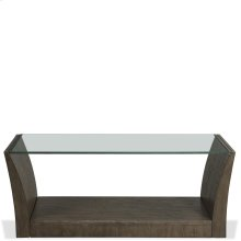 Joelle - Rectangular Coffee Table - Carbon Gray Finish