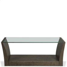 Joelle - Rectangular Coffee Table - Carbon Gray Finish