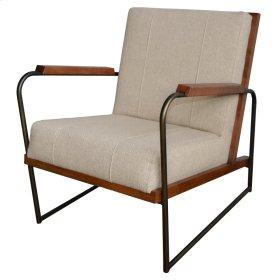 Damian Fabric Accent Chair, Cardiff Tan