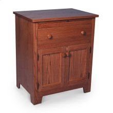 Shaker Deluxe Nightstand with Doors