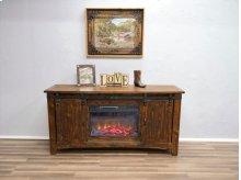 "70"" Hydro Barn Door TV Stand W/ Fireplace"