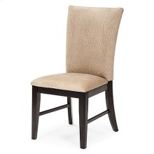 Plain Back Chair (black)