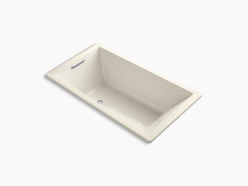 """Almond 66"""" X 36"""" Drop-in Vibracoustic + Bubblemassage Air Bath"""