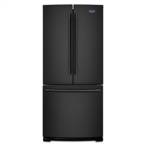 Maytag® 30-Inch Wide French Door Refrigerator - 20 Cu. Ft. - Black - BLACK