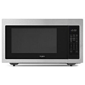Whirlpool® 1.6 cu. ft. Countertop Microwave with 1,200-Watt Cooking Power - Fingerprint Resistant Stainless Steel
