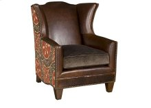 Athens Leather Fabric Chair, Athens Ottoman