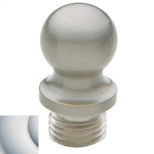 Satin Chrome Ball Finial