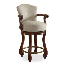 Strasbourg Counter Height Dining Stool - with Arms