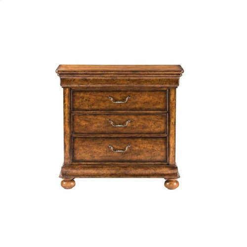Louis Philippe Bachelor's Chest - Sherwood