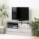 "TV Stand for TVs up to 75"" with Sliding Door - Seaside Pine Product Image"