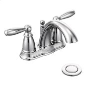 Brantford chrome two-handle bathroom faucet