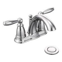 Brantford chrome two-handle bathroom faucet