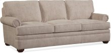 BC Options Kensington Panel Arm, Boxed Back, Bun Foot Sofa