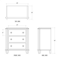 Babbington Small Chest Of Drawers