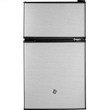 GE® Double-Door Compact Refrigerator