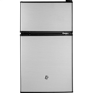 GE®Double-Door Compact Refrigerator