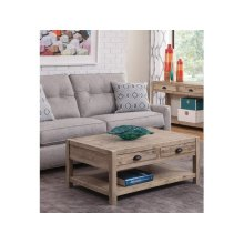 Coffee Table in Gray Wash