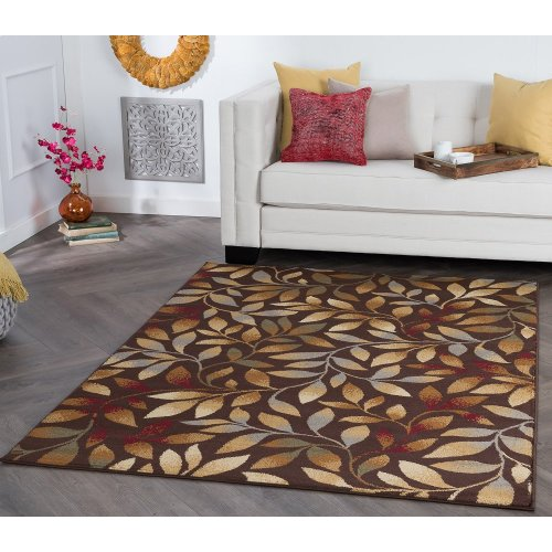 Elegance - ELG5488 Brown Rug