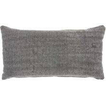 """Life Styles Gt650 Grey 16"""" X 32"""" Lumbar Pillows"""