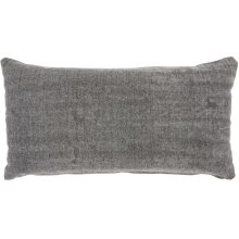 "Life Styles Gt650 Grey 16"" X 32"" Lumbar Pillows"