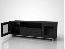 """Charcoal AV Stand For TVs up to 80"""" and 150 lbs / 68 kg"""