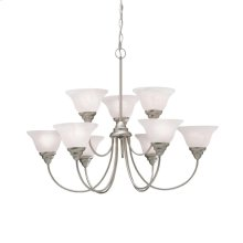 Telford Collection Telford 9 Light 2 Tiered Chandelier - NI