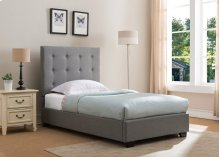 Stratford Platform Bed - Twin, Grey