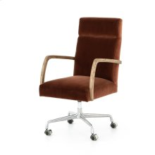 Burnt Auburn Cover Bryson Desk Chair