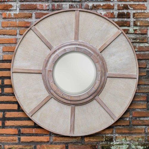 Calan Round Mirror