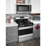 Amana 30-Inch Gas Range With Self-Clean Option - Stainless Steel