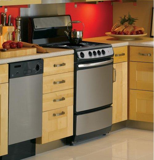 """GE® 24"""" Standard Clean Free-Standing Electric Range"""