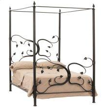 Eden Isle Iron Canopy Queen Bed