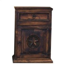Medio Nightstand W/Star Left