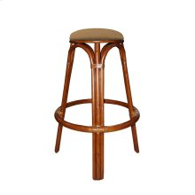 30'' Backless Bar Stool, Available in Carmelo Finish Only.