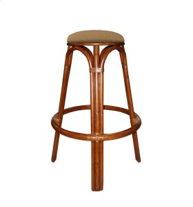 24'' Backless Bar Stool, Available in Carmelo Finish Only.