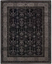 Regal Reg01 Blk Rectangle Rug 7'9'' X 9'9''