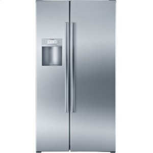 BOSCHSerie  6 36'' Counter Depth Side-by-Side Refrigerator 500 Series - Stainless Steel B22CS50SNS